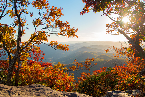 Georgia Hiking at Blood Mountain - gettyimageskorea