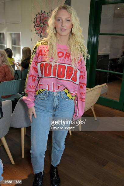 Georgia Hirst attends a live recording of Mika Simmons' new podcast The Happy Vagina at The AllBright Mayfair on September 17 2019 in London England