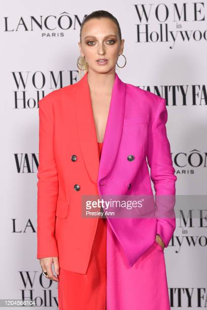 Georgia Hirst attends the Vanity Fair and Lancôme Women in Hollywood celebration at Soho House on February 06 2020 in West Hollywood California