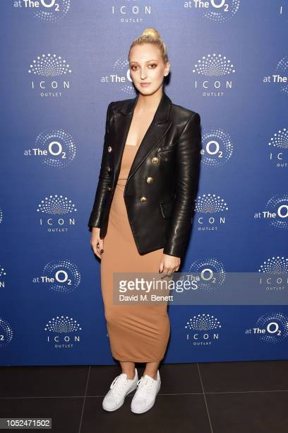 Georgia Hirst Georgia Hirst attends the opening of The O2's new shopping destination ICON Outlet on October 18 2018 in London England