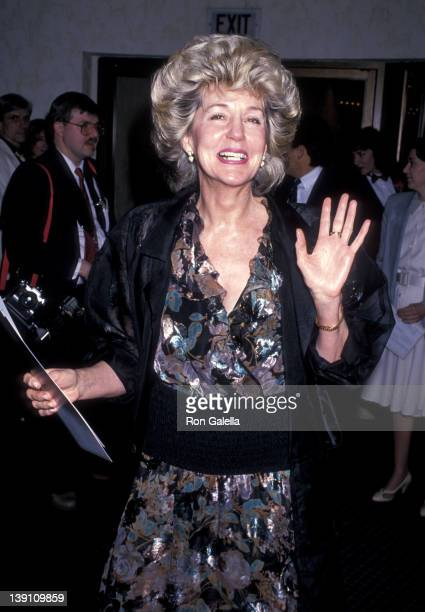 Georgia Holt attends the Chances Are Westwood Premiere on March 8 1989 at Mann Bruin Theatre in Westwood California
