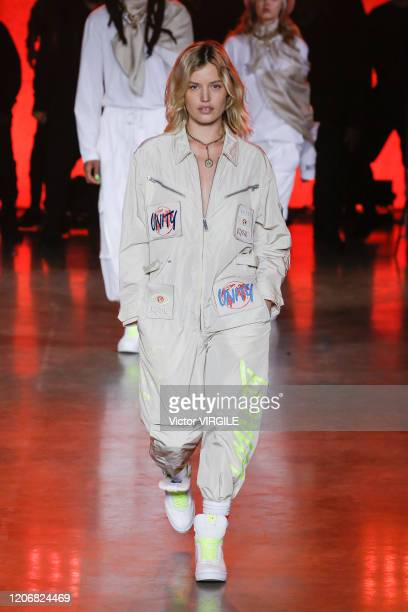 Georgia Jagger walks the runway at the Tommy Hilfiger Ready to Wear Spring/Summer 2020 fashion show during London Fashion Week on February 16 2020 in...