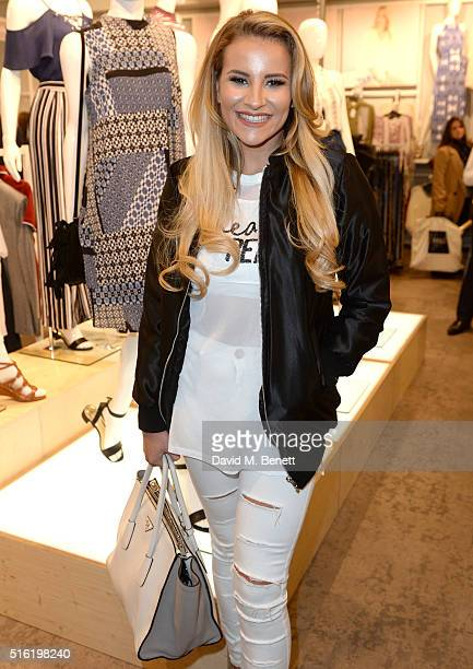 Georgia Kousoulou at the launch of The Edit Matalan's new SS16 collection on March 17 2016 in London England