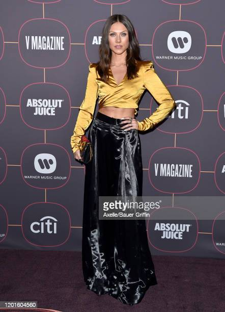 Georgia Ku attends Warner Music Group Pre-Grammy Party 2020 at Hollywood Athletic Club on January 23, 2020 in Hollywood, California.