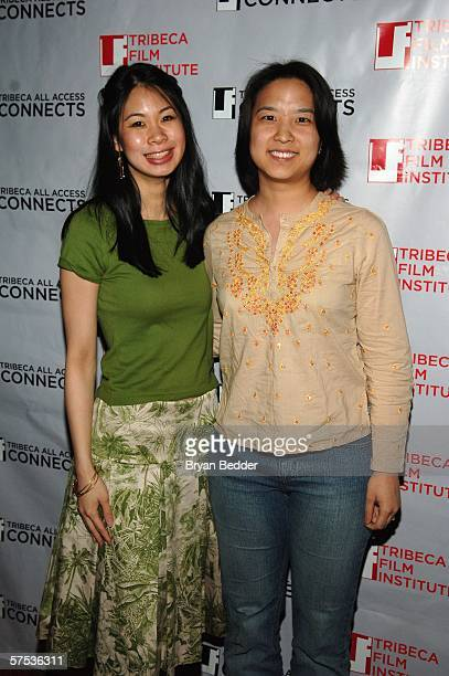 Georgia Lee and Jane Chen attend the TAA Closing Night Party during the 5th Annual Tribeca Film Festival May 4, 2006 in New York City.