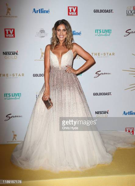 Georgia Love arrives at the 61st Annual TV WEEK Logie Awards at The Star Gold Coast on June 30 2019 on the Gold Coast Australia