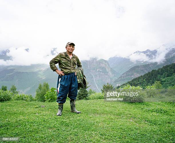 Georgia man in mountains