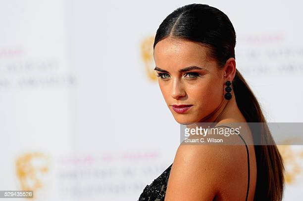 Georgia May Foote attends the House Of Fraser British Academy Television Awards 2016 at the Royal Festival Hall on May 8 2016 in London England