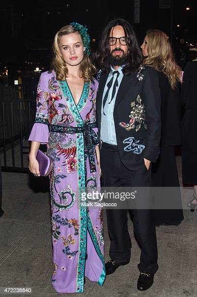Georgia May Jagger and Alessandro Michele attend the 'China Through The Looking Glass' Costume Institute Benefit Gala After Party on May 4 2015 at...
