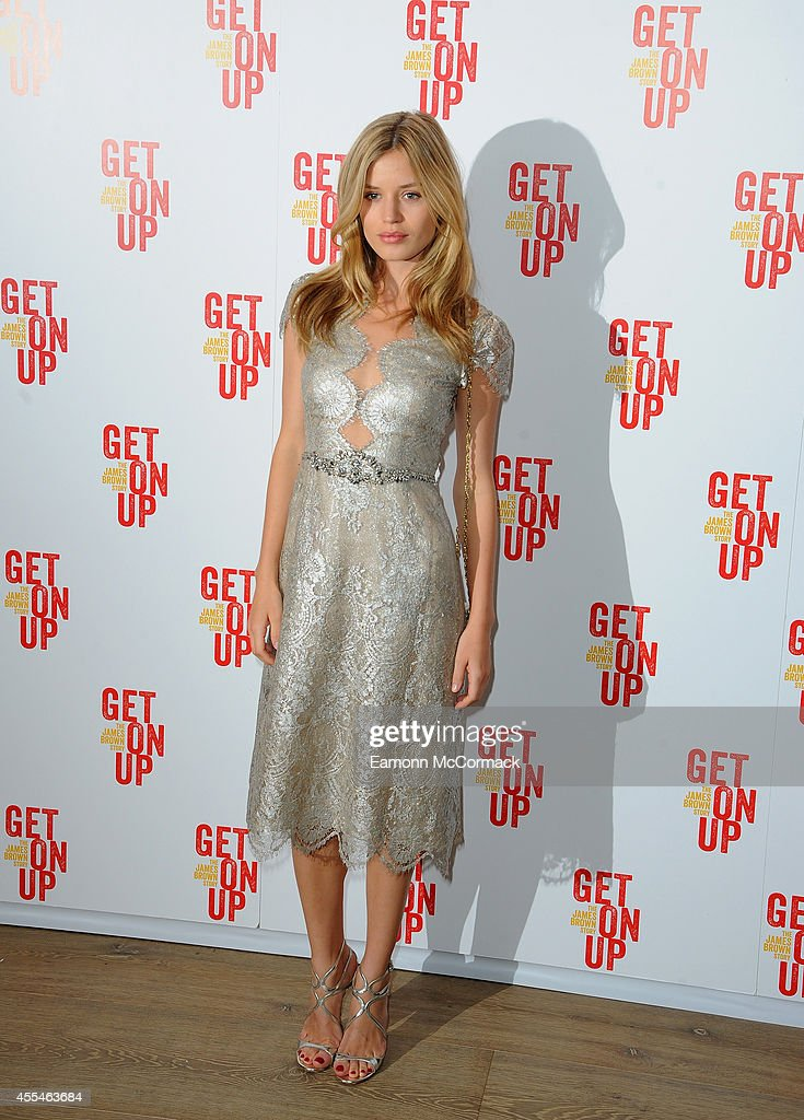 Georgia May Jagger attends a special screening of 'Get On Up' on September 14, 2014 in London, England.