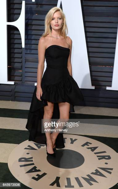 Georgia May Jagger attends the 2017 Vanity Fair Oscar Party hosted by Graydon Carter at Wallis Annenberg Center for the Performing Arts on February...
