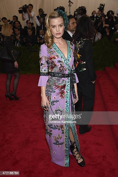 Georgia May Jagger attends the China Through The Looking Glass Costume Institute Benefit Gala at the Metropolitan Museum of Art on May 4 2015 in New...