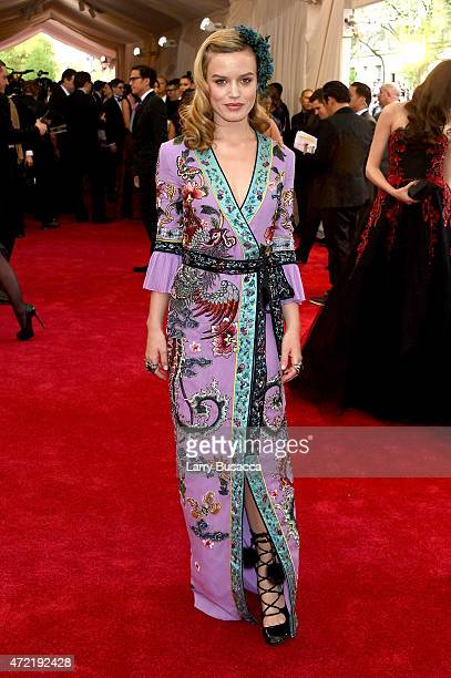 Georgia May Jagger attends the 'China Through The Looking Glass' Costume Institute Benefit Gala at the Metropolitan Museum of Art on May 4 2015 in...