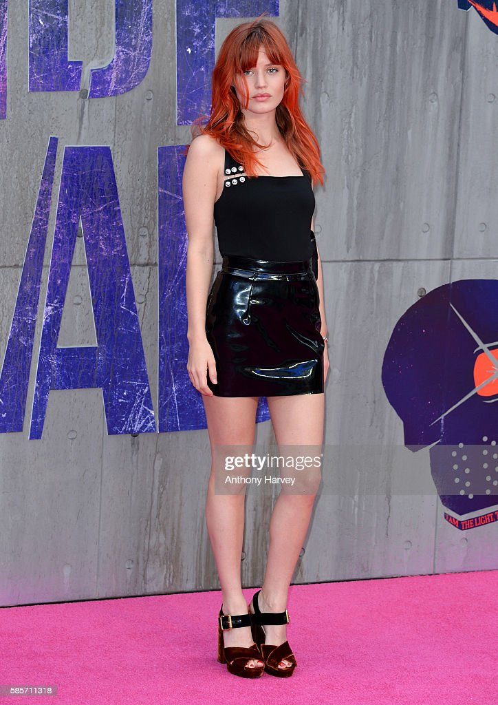 Georgia May Jagger attends the European Premiere of 'Suicide Squad' at Odeon Leicester Square on August 3, 2016 in London, England.