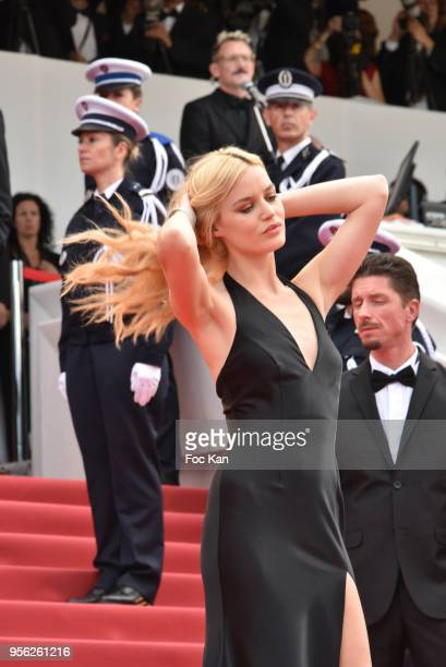 Georgia May Jagger attends the Premiere of 'Everybody Knows ' and the opening gala during the 71st annual Cannes Film Festival at Palais des...