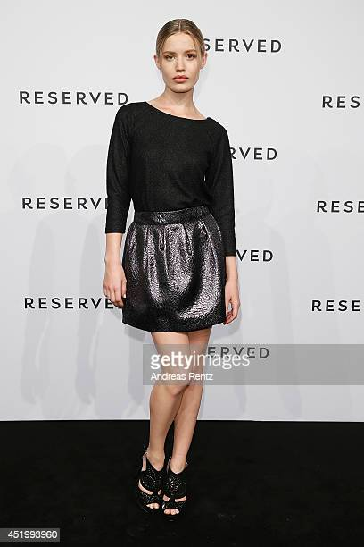 Georgia May Jagger attends the Reserved Let's Fashion Party at the MercedesBenz Fashion Week Spring/Summer 2015 at Alte Muenze on July 10 2014 in...