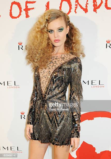 Georgia May Jagger attends the Rimmel London 180 Years of Cool party at the London Film Museum on October 10 2013 in London England