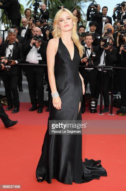 Georgia May Jagger attends the screening of 'Everybody Knows ' and the opening gala during the 71st annual Cannes Film Festival at Palais des...