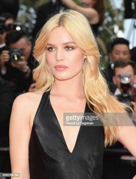 Georgia May Jagger attends the screening of Everybody Knows and the opening gala during the 71st annual Cannes Film Festival at Palais des Festivals...