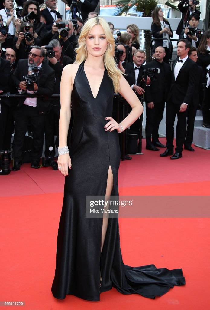 Georgia May Jagger attends the screening of 'Everybody Knows (Todos Lo Saben)' and the opening gala during the 71st annual Cannes Film Festival at Palais des Festivals on May 8, 2018 in Cannes, France.