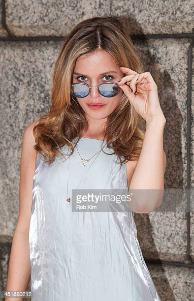 Georgia May Jagger attends the Sunglass Hut mobile truck photo call at The Conde Nast Building on July 8 2014 in New York City