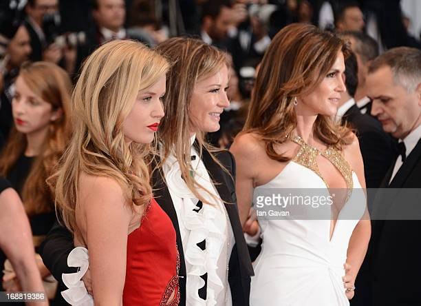 Georgia May Jagger Eva Cavalli and Cindy Crawford attend Electrolux at Opening Night of The 66th Annual Cannes Film Festival at the Theatre Lumiere...