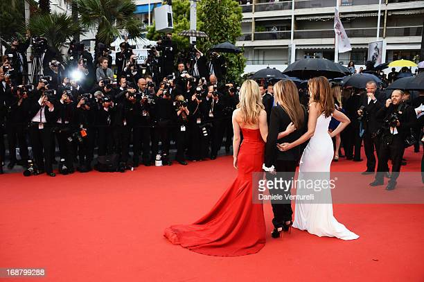 Georgia May Jagger Eva Cavalli and Cindy Crawford attend the Opening Ceremony and premiere of 'The Great Gatsby' during the 66th Annual Cannes Film...