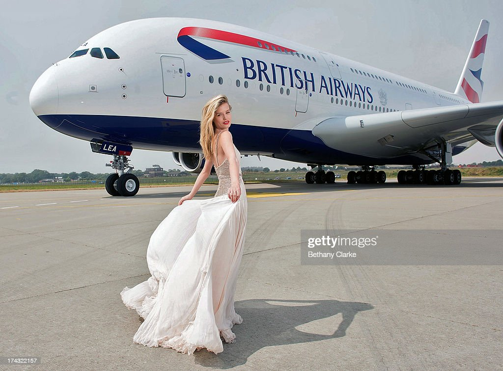 British Airways Double Decker Plane