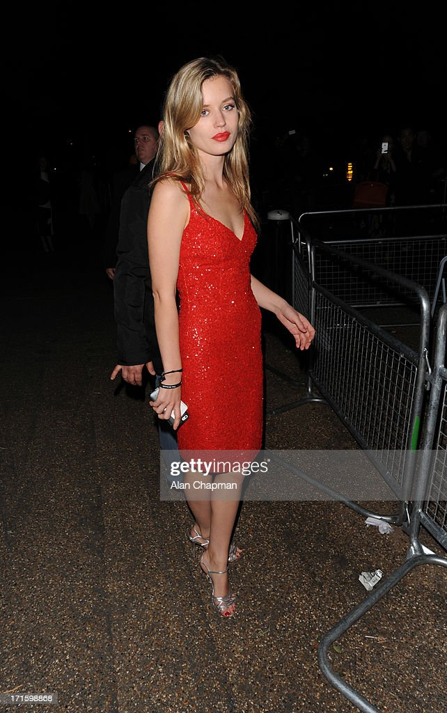 Georgia May Jagger sighting leaving the Serpentine Summer Party on June 26, 2013 in London, England.