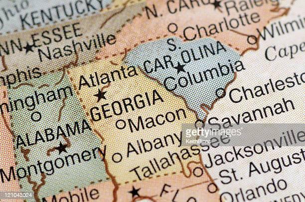 geórgia - geórgia sul dos estados unidos - fotografias e filmes do acervo