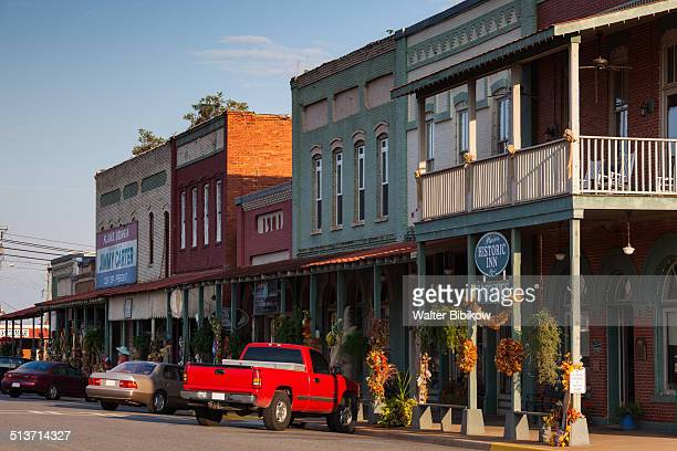 usa, georgia, plains - small town america stock pictures, royalty-free photos & images