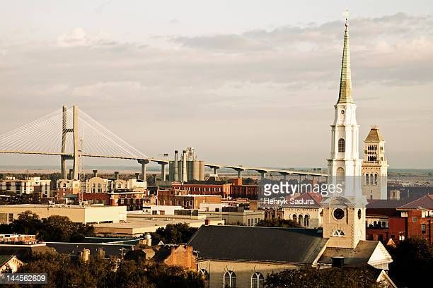 USA,  Georgia, Savannah, Cityscape