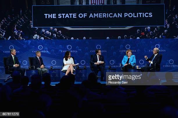 Georgia Senator David Perdue South Carolina Senator Lindsey Graham EY Executive Director Morgan Ortagus CoFounder Chairman CEO Concordia Matthew A...