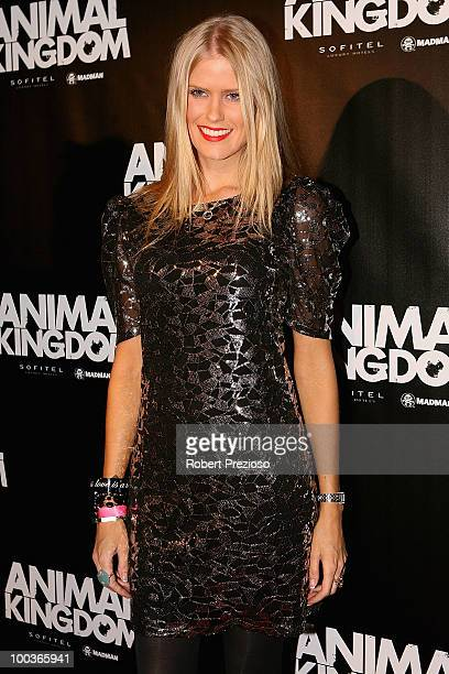 Georgia Sinclair arrives at the premiere of 'Animal Kingdom' at Hoyts Melbourne Central on May 24 2010 in Melbourne Australia