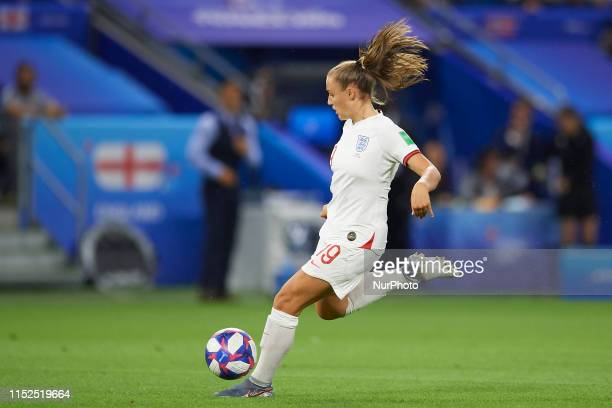 Georgia Stanway of England during the 2019 FIFA Women's World Cup France Quarter Final match between Norway and England at on June 27 2019 in Le...