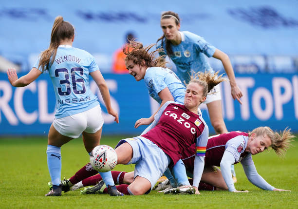 GBR: Manchester City Women v Aston Villa Women - Barclays FA Women's Super League