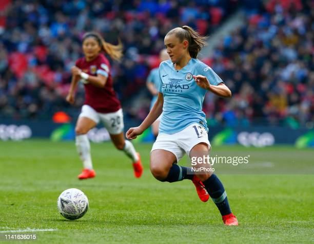 Georgia Stanway of Manchester City WFC during The SSE Women's FA Cup Final match between Manchester City Women and West Ham United at Wembley stadium...