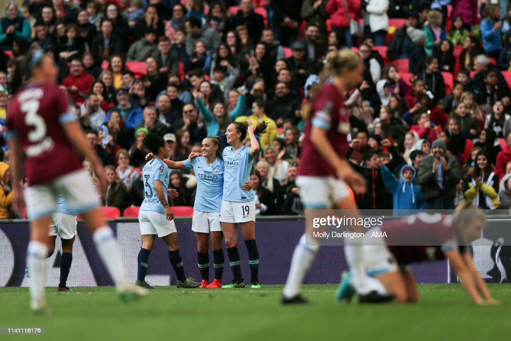Manchester City Women v West Ham United Ladies - Women's FA Cup Final : Nyhetsfoto