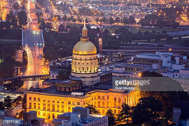 Georgia State Capitol at Night