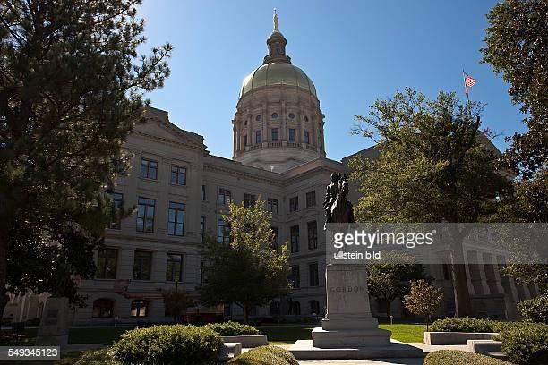Georgia State Capitol in Atlanta Georgia USA