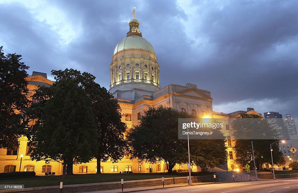 Georgia State Capitol : Stock-Foto