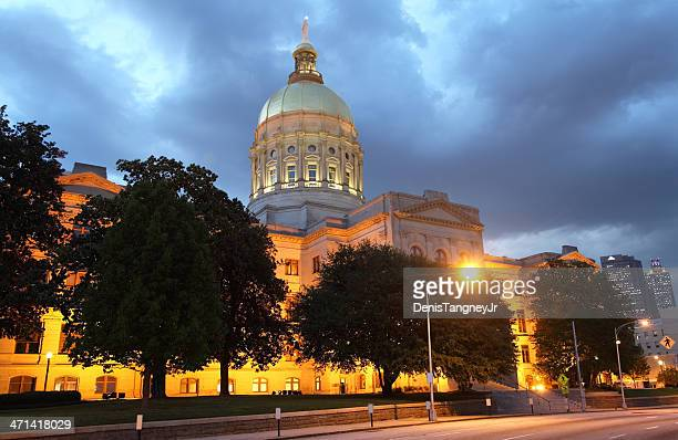 georgia state capitol - capital cities stock pictures, royalty-free photos & images