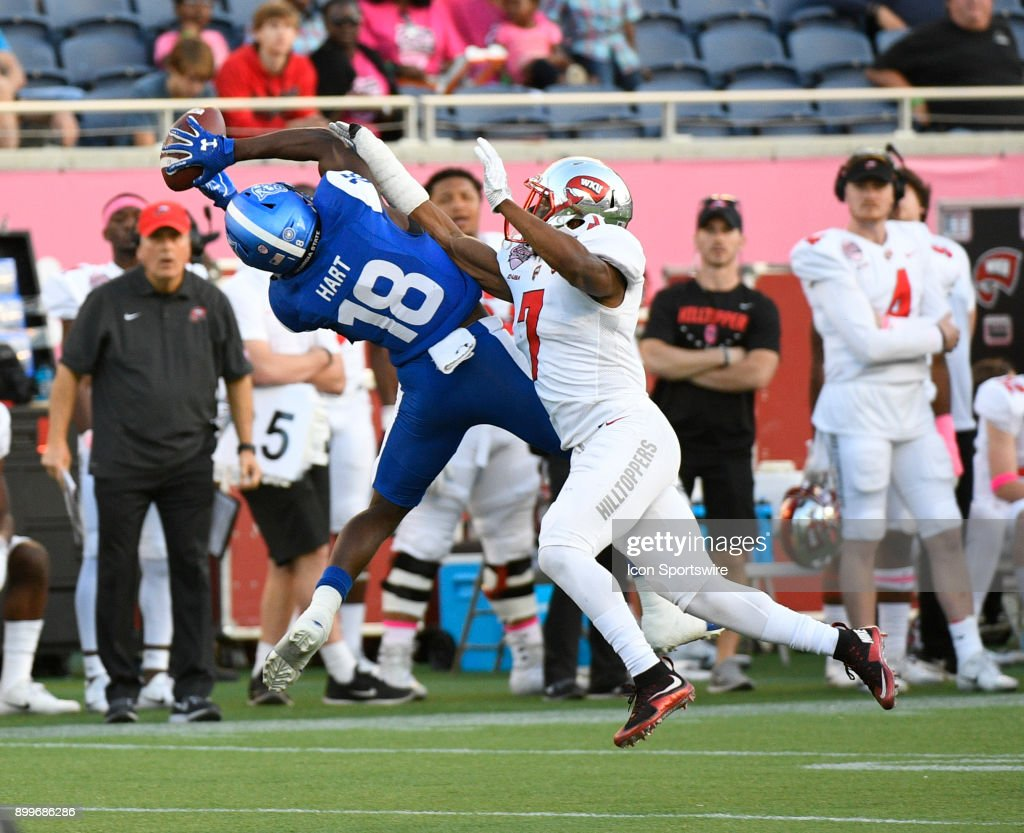 COLLEGE FOOTBALL: DEC 16 Cure Bowl - Western Kentucky v Georgia State : News Photo