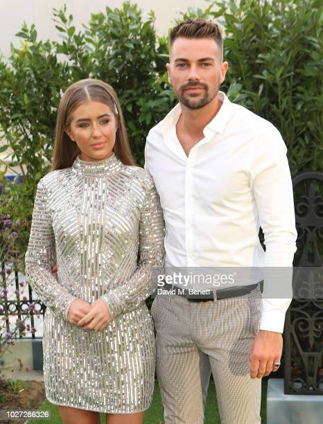 Georgia Steel and Sam Bird attend the World Premiere of The House With A Clock In Its Walls at Westfield White City on September 5 2018 in London...