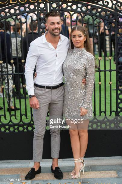 Georgia Steel and Sam Bird attend the World Premiere of The House With The Clock In Its Walls at Westfield White City on September 5 2018 in London...