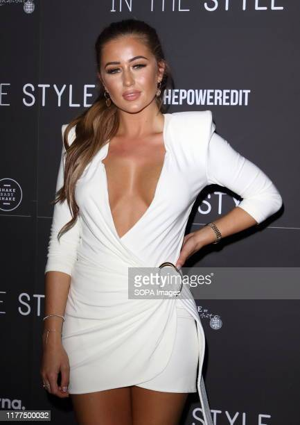 Georgia Steel attends the In The Style The Power EditLaunch Party at Libertine Night Club in London
