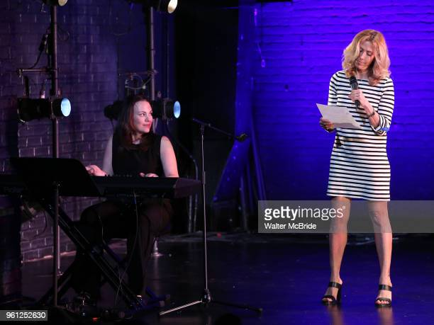 Georgia Stitt and Amanda Green on stage during the 9th Annual LILLY Awards at the Minetta Lane Theatre on May 212018 in New York City