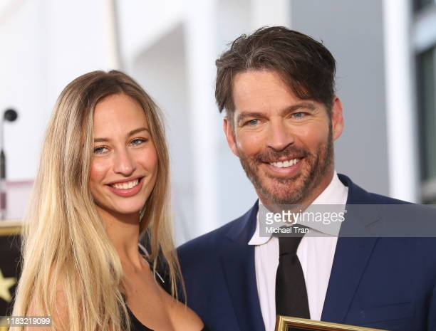 Georgia Tatum Connick and Harry Connick Jr attend the ceremony honoring Harry Connick Jr with a Star on The Hollywood Walk of Fame held on October 24...