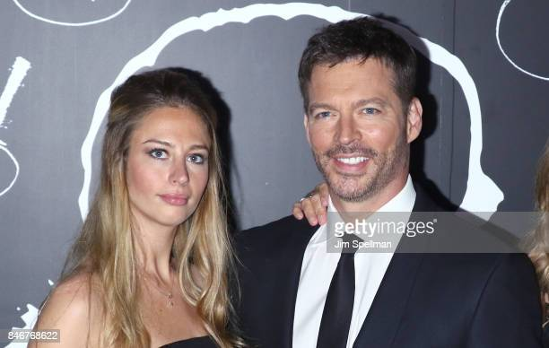 Georgia Tatum Connick and singer/TV host Harry Connick Jr attend the mother New York premiere at Radio City Music Hall on September 13 2017 in New...