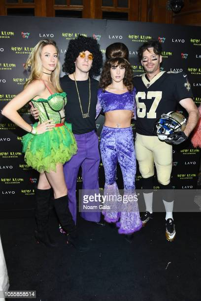 Georgia Tatum Connick, Bobby Young, Jill Goodacre, and Harry Connick Jr. Attend Heidi Klum's 19th Annual Halloween Party presented by Party City and...